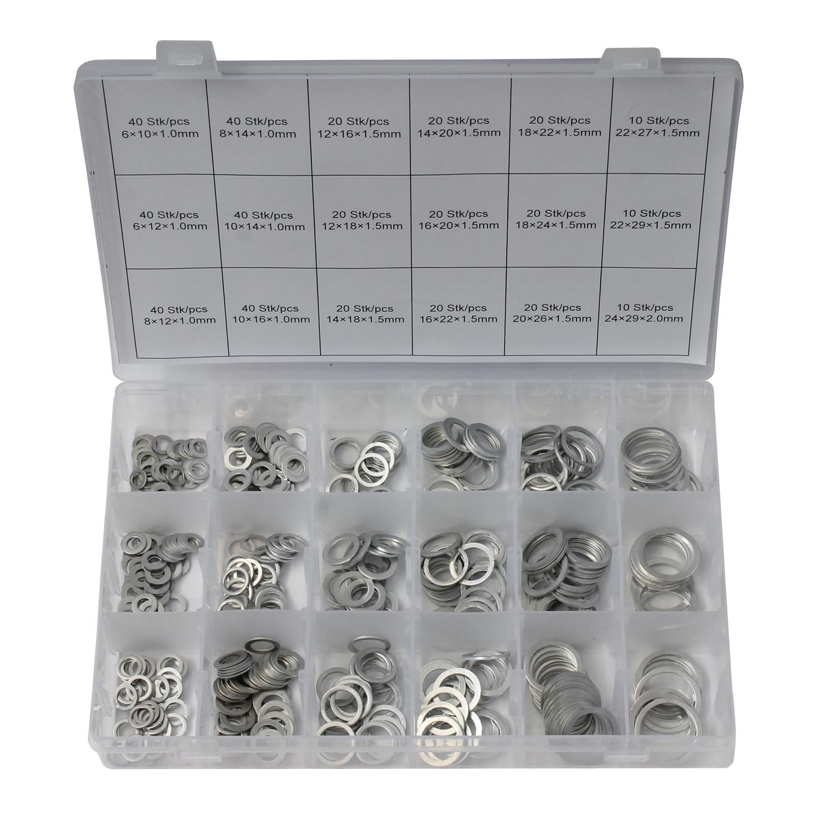 Normex Kupfer-Unterlegscheiben 150-tlg.